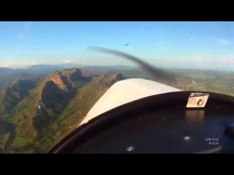 Zenith CH 601XL-B over the farallones, Tolima, Colombia
