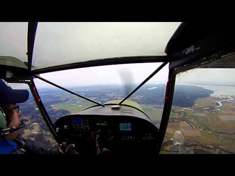 Flying N701GV Backwards