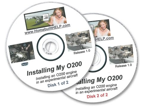 How I installed my Continental O200  engine DVD