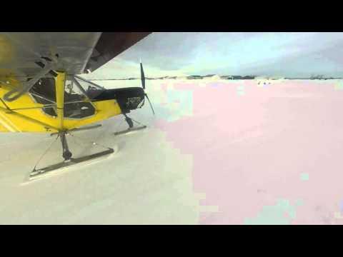 ski takeoff Zenith 701 FrankenSTOL