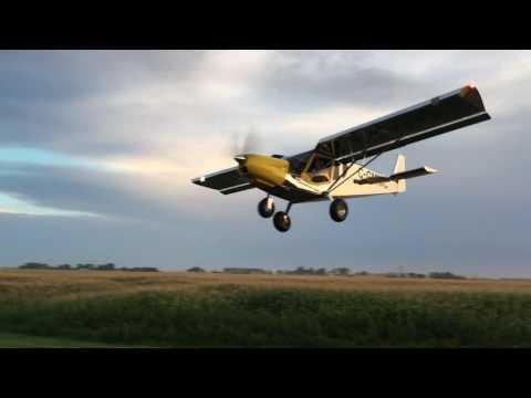 Zenith CH750 Landing