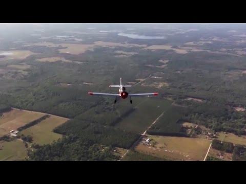 Departing Sun'n Fun 2017 - rear facing camera - takeoff