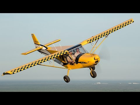 STOL CH 750 over Sebring, Florida