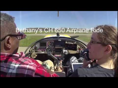 Bethany's Plane Ride in Zenith CH 650