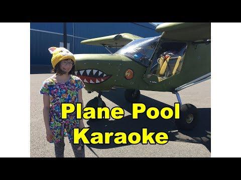 Plane Pool Karaoke