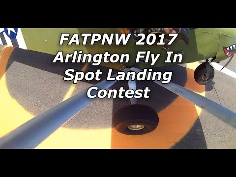 2017 Arlington Fly In Spot Landing Contest