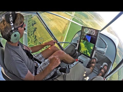 """Zenith STOL CH 750 Super Duty with the """"unpanel"""" panel"""