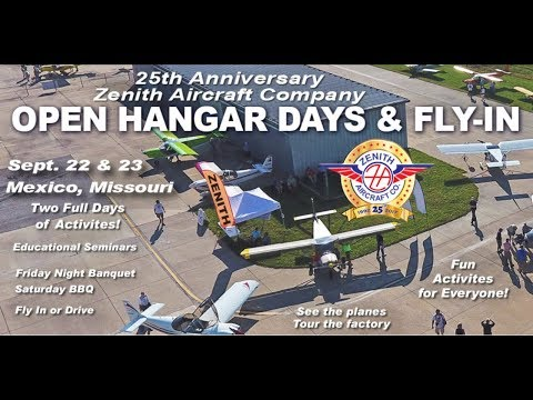 Preview of the 25th Anniversary Open Hangar Days and Fly In, Mexico Missouri, Sept. 22 & 23