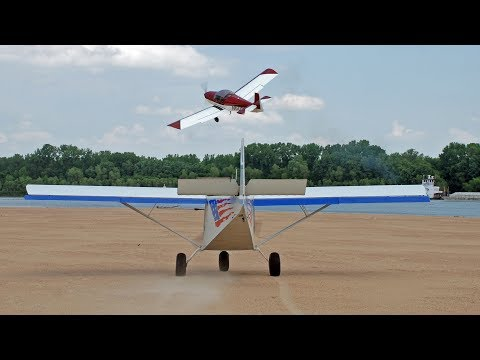 Landing and taking off a Missouri River sand bar and following the river