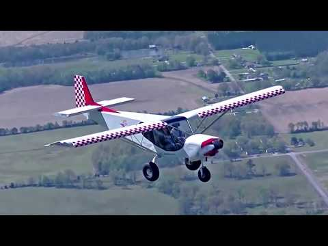 Flying the Zenith STOL CH 750 Super Duty home from 2018 Sun 'n Fun Fly-In