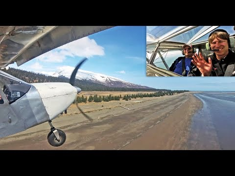 Flying in Alaska: Beach landing and take-off in the Zenith STOL