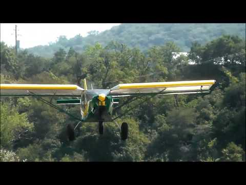 Zenith STOL Sky Jeep: Slow flight demonstration and outstanding handling characteristics
