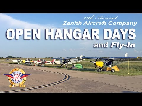 The Planes from the Zenith Aircraft Open Hangar Days & Fly-In
