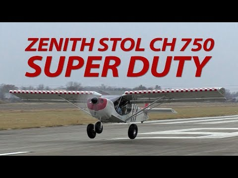 Short flight in the Zenith STOL CH 750 Super Duty