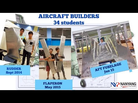 Student Aircraft Builders in Singapore