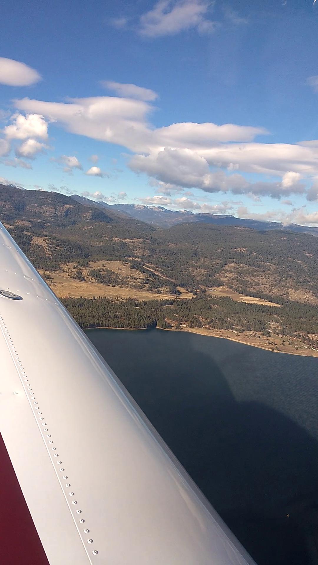 Flying Lake Roosevelt