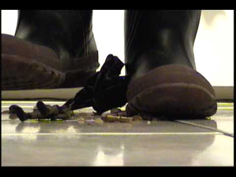 Acton Rubber Boot Stomping and Crushing # 2