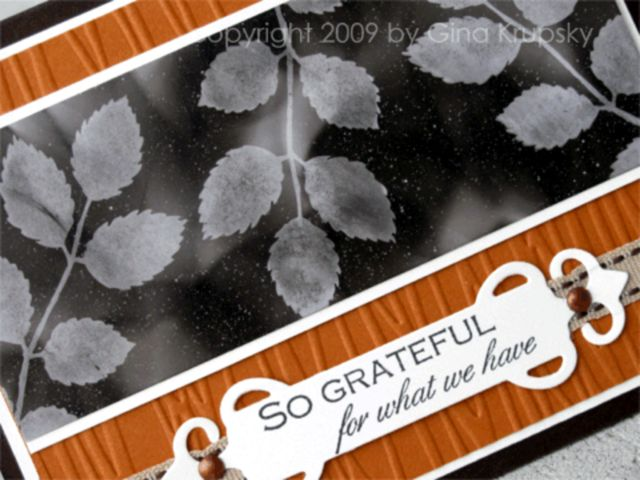 Soot Stamping