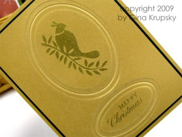 Tone on Tone Embossing