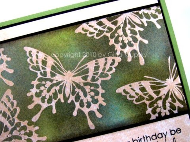 Distressed Linen Butterflies