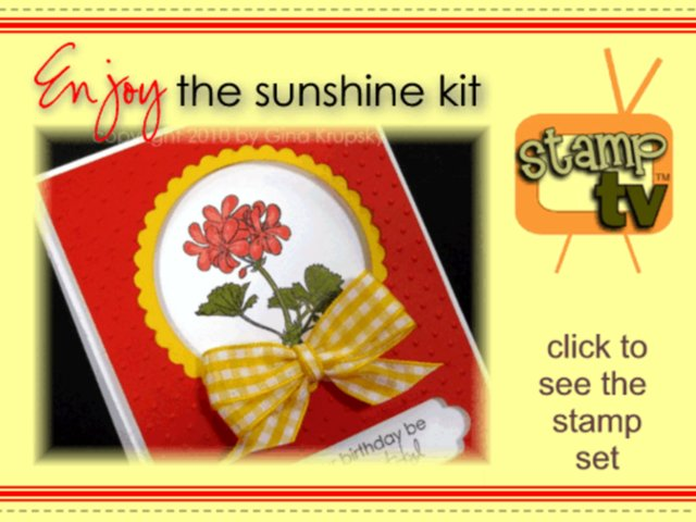 Introducing the new StampTV kit- Enjoy the Sunshine