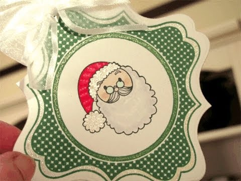 Naughty or Nice Gift Tag / Door Hanger
