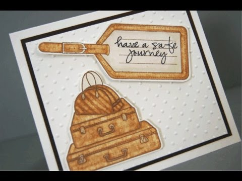 Enjoy the Journey Mini Card