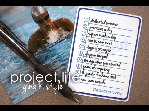 Take Note of Your Memories- Project Life
