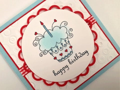 Sweet Tweets Happy Birthday Card