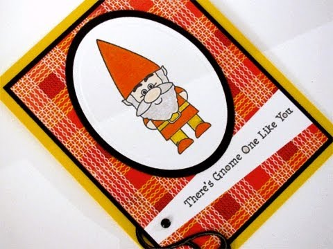 Gnome one like you card project