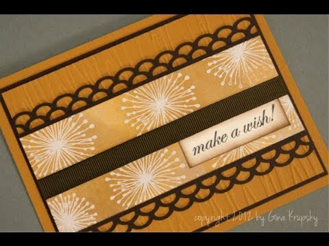 Make A Wish Sun-Kissed Autumn Card
