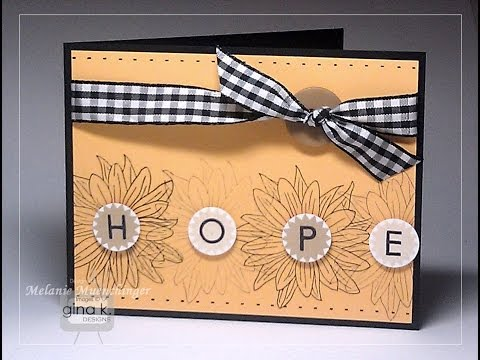 Hopeful Flowers with Lots of Letters 2 by Melanie Muenchinger
