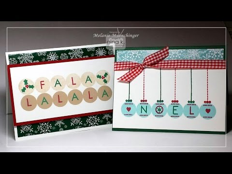 Holiday Cards that Sing: Lots of Letters 2