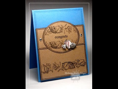 Clean & Simple Fabulous Frame and Borders Card