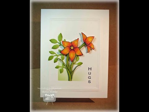 Floral Hugs Card Making Tutorial