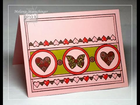 Introducing Triple Play Frame Stamp Set from Gina K. Designs