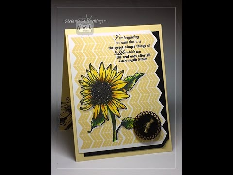 Pencils, Markers and More with Stately Flowers 5