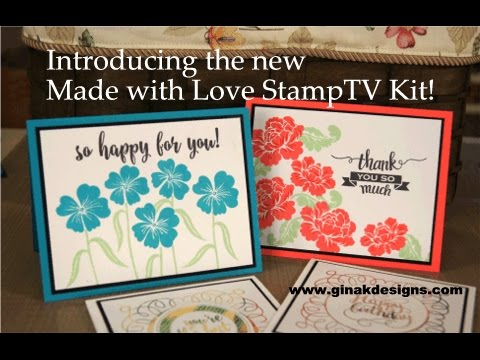 Made With Love StampTV Kit