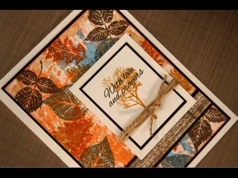 Autumn Leaves Card Project