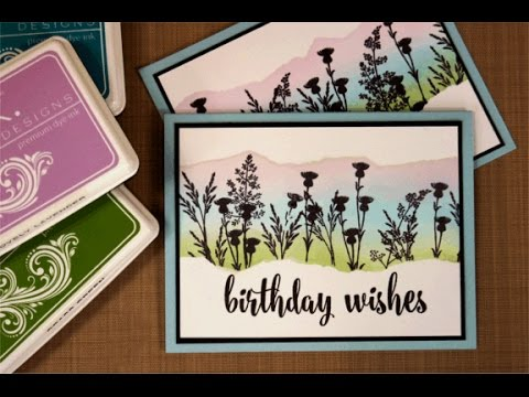 Handmade Botanicals Card Project