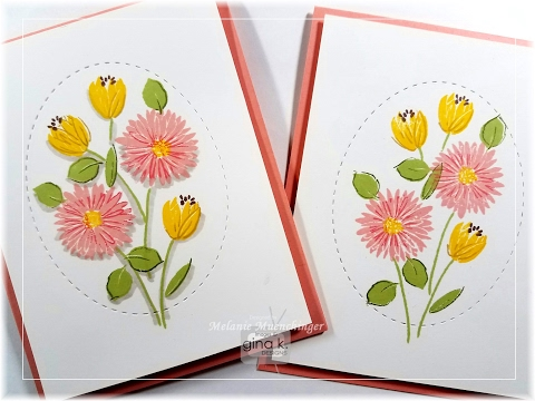 How to Direct to Stamp and Roll Fabulous Flowers