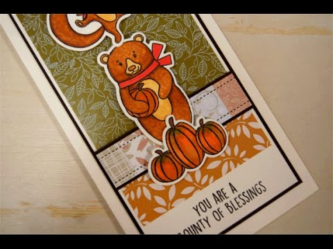 Bounty of Blessings Tall Card