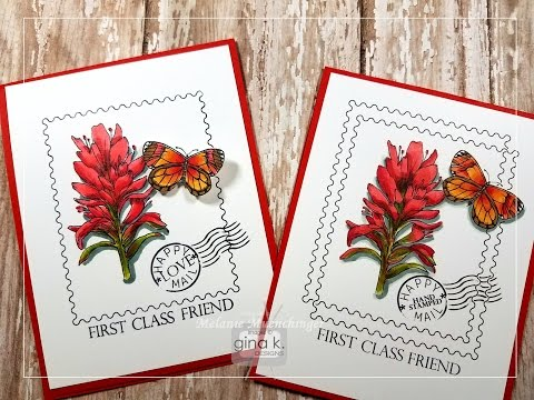 Introducing Stately Flowers 11: How to Color Indian Paintbrush