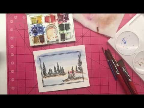 Framescape Watercolor Tutorial