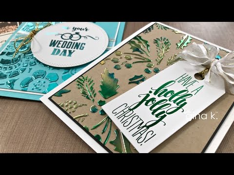 Deco Foil Transfer Gel - 5 ways to use it