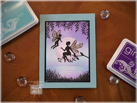 Moonlit Skies Fairy Card