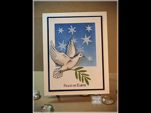 Peaceful Dove Card