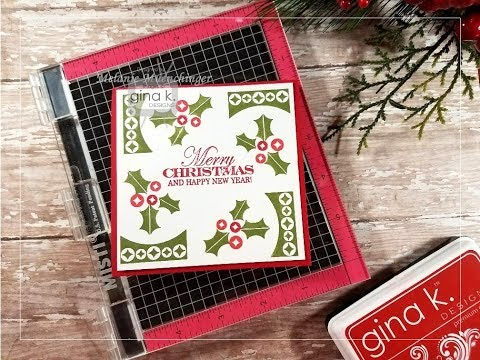 Rotation Stamping with the MISTI and Fabulous Holiday Labels