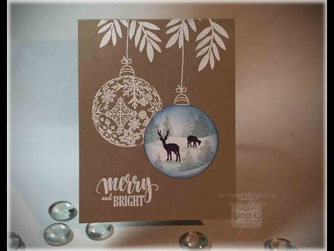 Ornament Scene Card