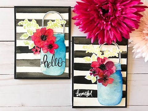 Craft Your Joy: Hello Beautiful Watercolor Blooms